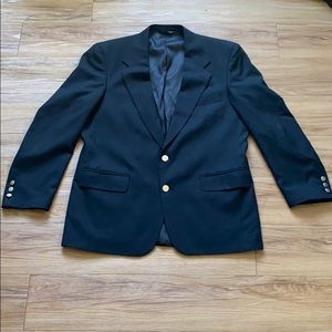 Burberry's Super 100's wool sports coat blazer